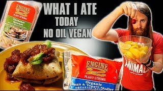 What I EAT in a Day on NO OIL LOW SALT Diet (VEGAN) pt 2