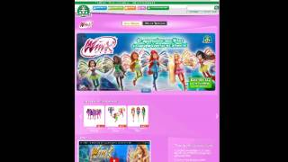 Winx club sirenix dolls greek site review!!!