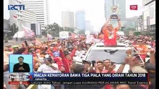 Ratusan Ribu The Jakmania Ubah Jalan Sudirman-Thamrin Jadi Lautan Orange - SIS 15/12