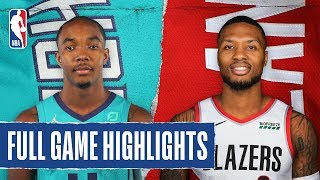 HORNETS at BLAZERS   FULL GAME HIGHLIGHTS   January 13, 2020