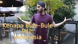 Kenapa bule-bule pilih Indonesia? width=