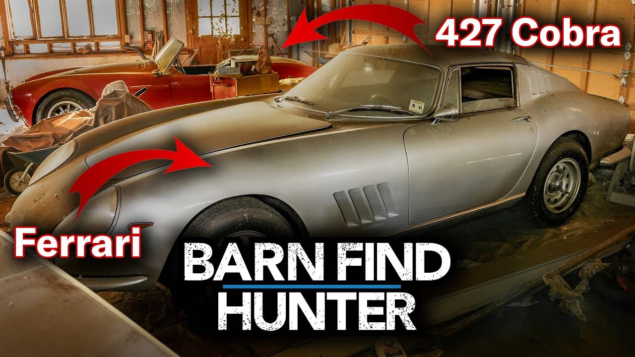 Barn Find Hunter: The Ferrari, the Cobra, and the crickets in the garage