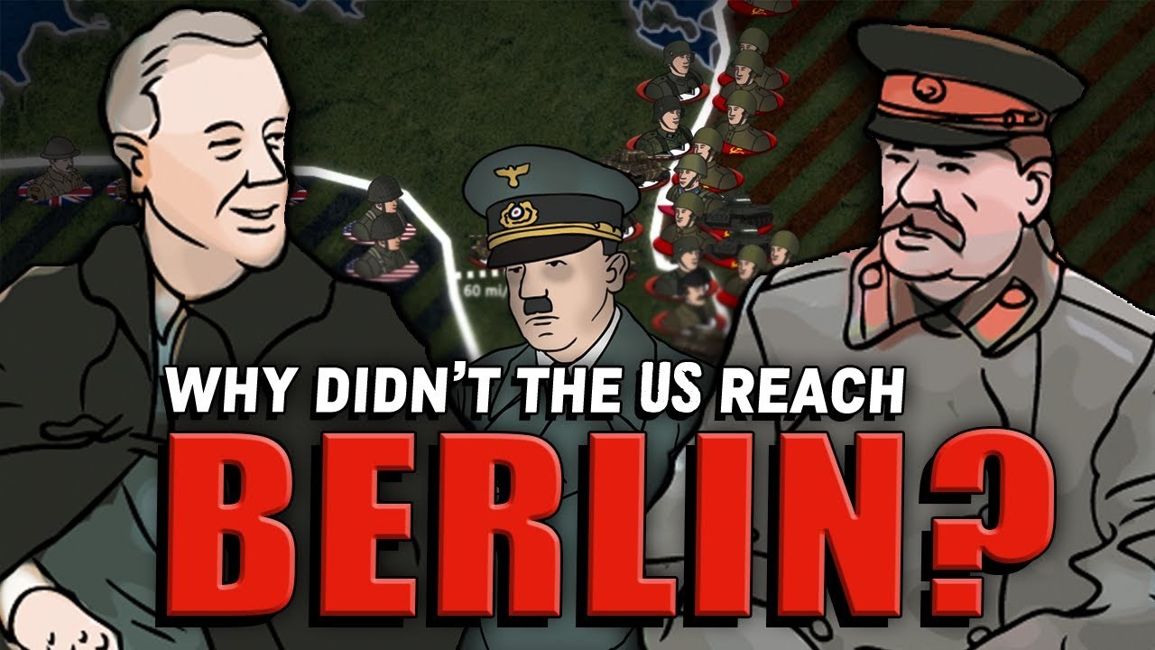 Why didn't the U.S. Reach Berlin First in WWII? | Animated History