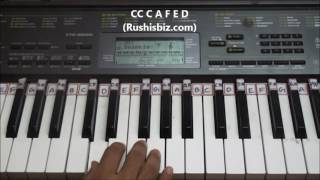 Happy Birthday To You Song - Piano Tutorials | 917013658813 - PDF NOTES/BOOK - WHATS APP US