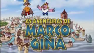 As Aventuras de Marco & Gina | Abertura Portugal