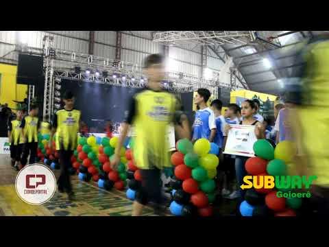 Abertura da fase final dos Jogos Bom de Bola nesta segunda-feira. 30 - Cidade Portal