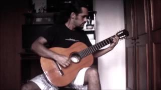 Samurai Djavan - cover instrumental (adaptação para violão percussivo)