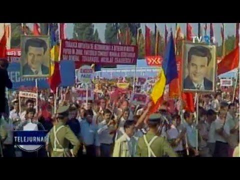 """Cum s-a auzit """"Jos Ceauşescu!"""" la repetiţiile paradei din 1985"""