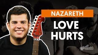 Videoaula Love Hurts (guitarra)