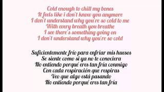 Maroon 5 - Cold ft. Future (English lyrics) (Subtitulada en Español)