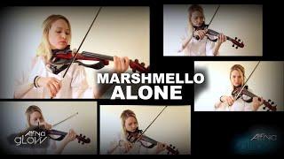 MARSHMELLO ALONE | ELECTRIC VIOLIN COVER | ALFIYA GLOW