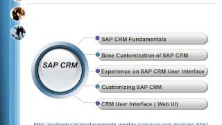 SAP CRM Training | SAP CRM Online Training | SAP CRM Course | Learn SAP CRM Online