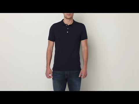 YouTube Men's Fitted Stretch Polo