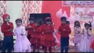 Cute kids dance on the song ek hazaron me meri behna hai