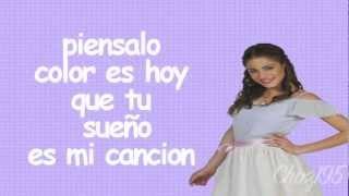 """Violetta-""""Ven y Canta""""Letra(Exclusiva) HD"""