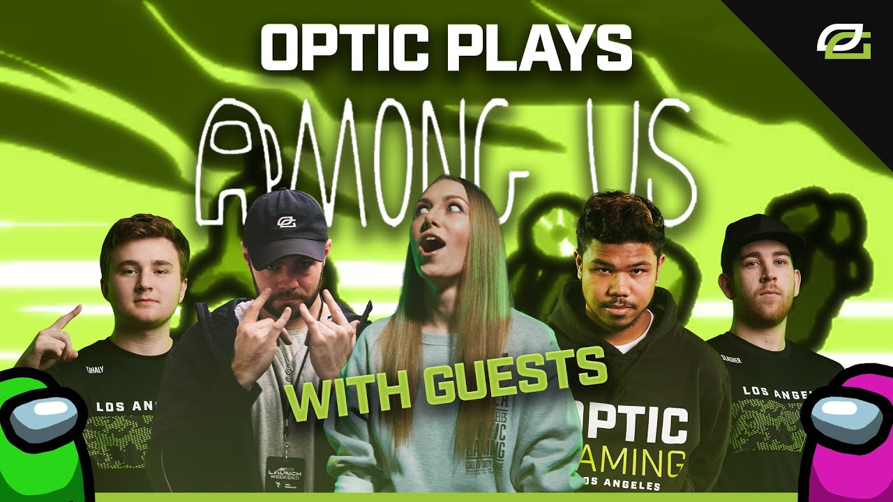 OpTic Gaming - Among Us Feat. Cole Cook, Enable, Vega, and Faccento | OpTic Plays