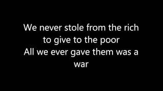 Bad Religion - Let Them Eat War Lyrics