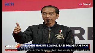 Diskusi Bareng Keluarga PKH, Jokowi Minta Ibu-ibu Tak Belikan Rokok Suami -  SIP 04/12