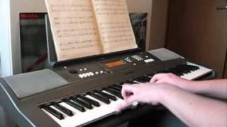 Lord of the Rings - Forth Eorlingas on piano
