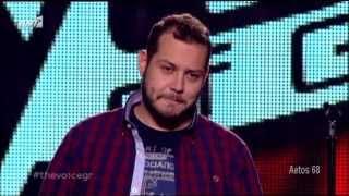 The Voice Επ.3 Γιώργος Γιακουμάκης (Δεν σε χρειάζομαι) {24/1/2014}