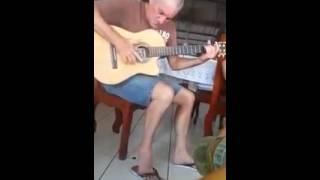 Música de faroeste no violão