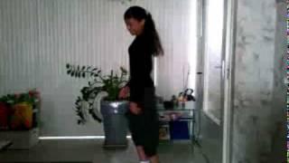 Tiziana dancing to Ciara - Ride ft Ludacris