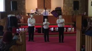 God's Way Youth Day - Wanna Be Happy? - Kirk Franklin (mime cover)