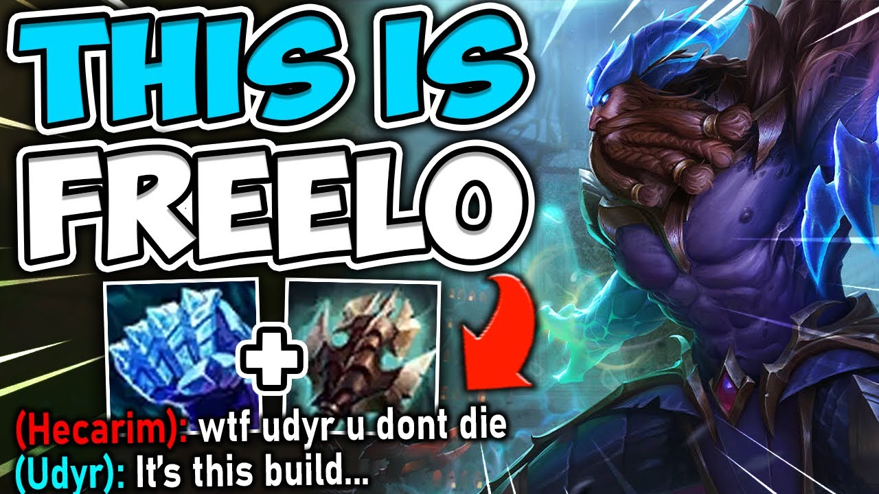 MetaSolaray - BECOME INVINCIBLE WITH ONLY 2 ITEMS ON UDYR! THESE 2 ITEMS ARE 100% BROKEN - League of Legends