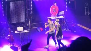 William Singe and Alex Aiono LIVE in SF | Fake Love X Broccoli X Caroline MASHUP