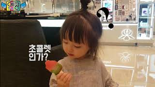[예콩이 속이기 1탄] 시큼한 아이스크림 먹이기