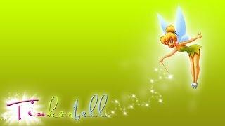 Desenho da Fada Sininho da Disney em Portugues [Disney Tinkerbell Movie] Colorindo