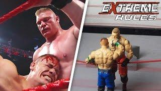 John Cena vs. Brock Lesnar - WWE Extreme Rules 2012