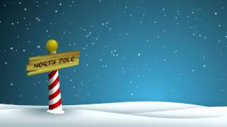 North Pole - HD Background Loop