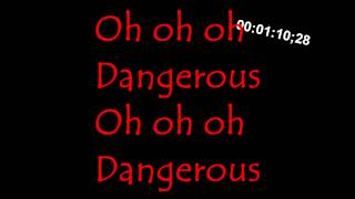 David Guetta - Dangerous ft Sam Martin (Lyrics)