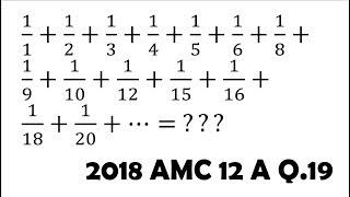2019 AMC 12A Live Solve (22/25, missed #22, 24, 25)