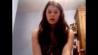 Lottie singing 'Skinny Love' by Bon Iver