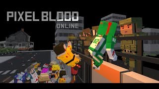Cruel Pixel Game Play_Pixel Blood Online_Long-take action scene of surferdude