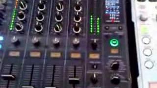 PIONEER DJM-800 EFFECTS DEMO PART 1