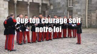 Chant de la promotion Commandos d'Afrique (IIIe Bataillon de l'ESM)