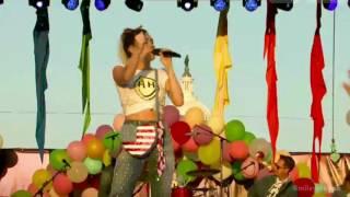 "Miley Cyrus performs ""Malibu"" at the Capital Pride"