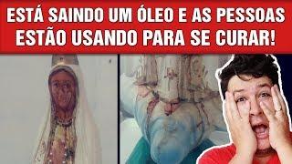 Imagem de Nossa Senhora está Chorando Sangue e Realizando Milagres, em Ipu-CE (#760 - Notícias A.)