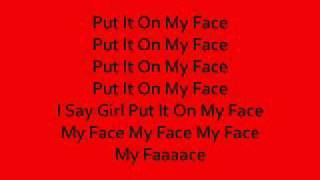 Tha Joker | Put It On My Face | Lyrics On Screen