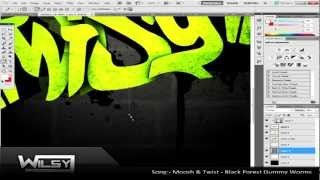 Speedart #2: Graffiti Wallpaper