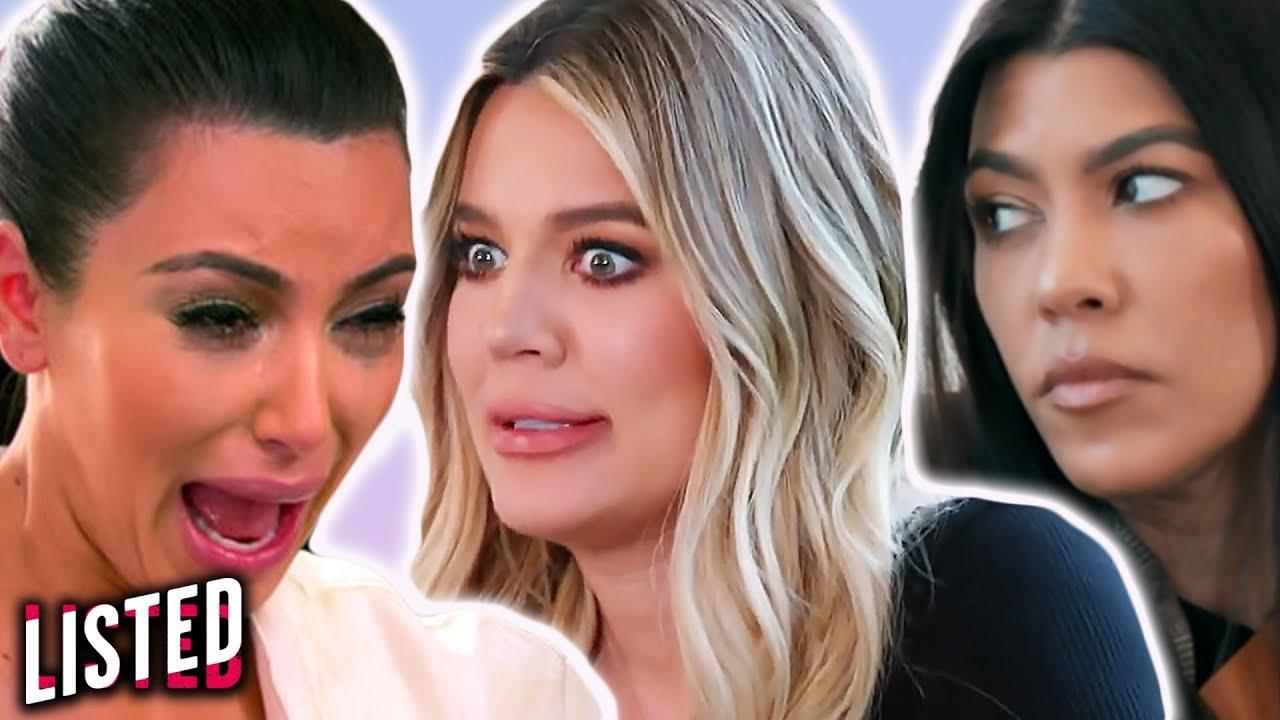 10 Most Iconic Kardashian Sister Fights!