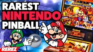 Nintendo's Rarest Pinball Machine - Rerez