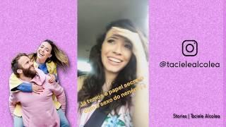 Taci vai ser mamãe de uma menina | Taciele Alcolea Stories