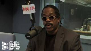 Larry Blackmon stops by the WBLS studios