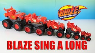 Blaze and the Monster Machines Blaze Song Sing A Long Theme