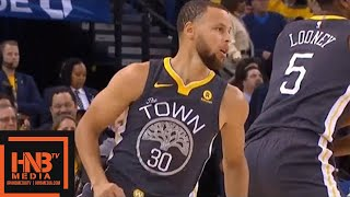 Golden State Warriors vs New Orleans Pelicans 1st Qtr Highlights / Game 2 / 2018 NBA Playoffs