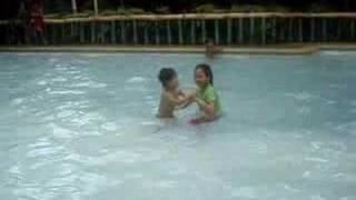 nico and bianca kiddie pool